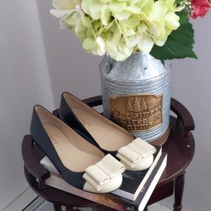 Talbots Leather Two Toned Shoes